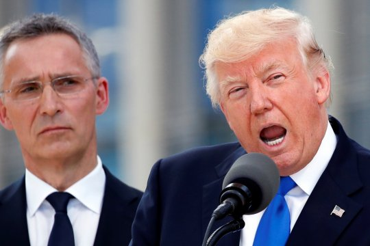 Трамп обвинил Макрона в неуважении к НАТО