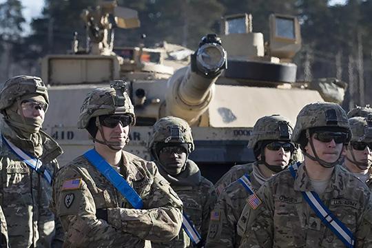 США милитаризируют Европу