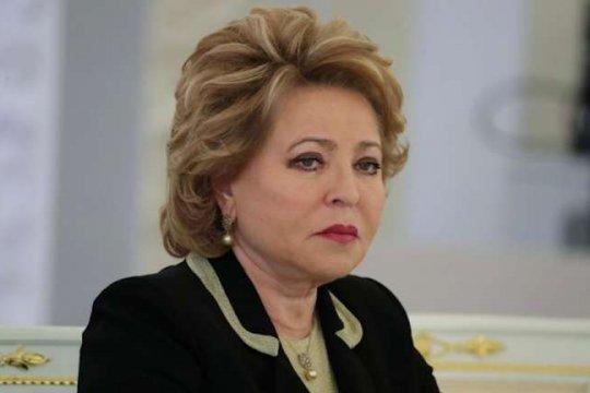 Валентина Матвиенко направила телеграмму соболезнования в адрес Председателя Собрания Исламского совета Ирана Али Ардаширу Лардижани