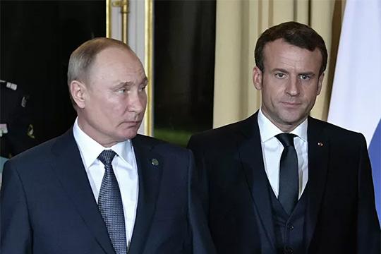 Путин и Макрон обсудили убийство генерала Сулеймайни