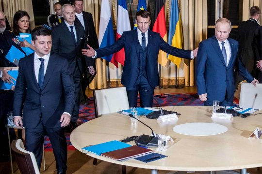 Киев запросил встречу Путина с Зеленским в Израиле