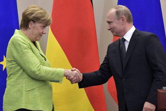 В Москве начались российско-германские переговоры на высшем уровне