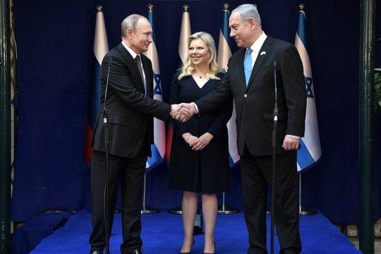 Владимир Путин встретился с Биньямином Нетаньяху