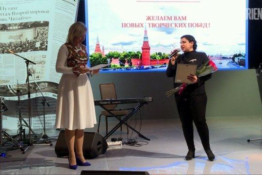 ORIENT поздравляет журналистку ТАСС, уроженку Ашхабада с наградой МИД РФ