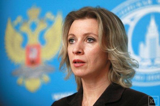 Мария Захарова: героем современной Украины является профессиональный агент Гитлера