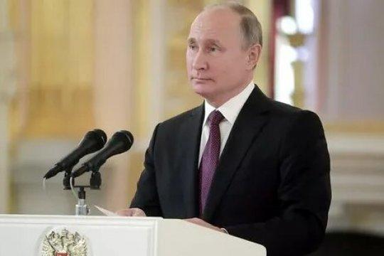 Путин принял верительные грамоты у послов иностранных государств
