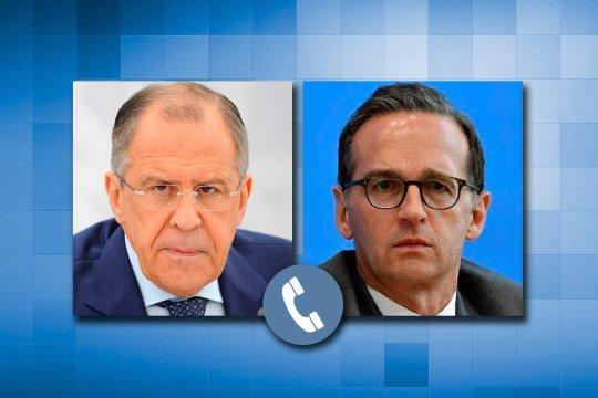 Сергей Лавров провел телефонный разговор с немецким коллегой