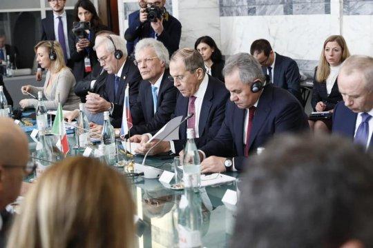 В Риме прошли переговоры глав МИД и Минобороны России и Италии
