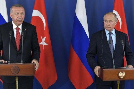 Эрдоган заявил о подготовке переговоров с Путиным