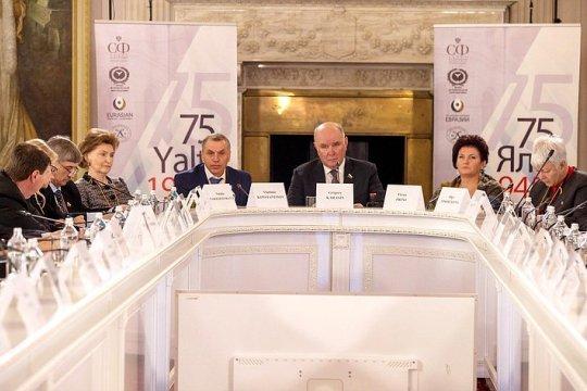 Делегация СФ принимает участие в Международной научной конференции в Ялте