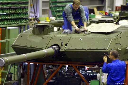 Германия продает оружие странам, поддерживающим конфликт в Ливии