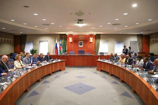 Состоялась встреча Председателя Совета Федерации и Председателя Национального совета Намибии