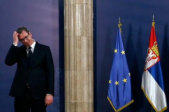 Сербия: «косовская карта» президента и оппозиции