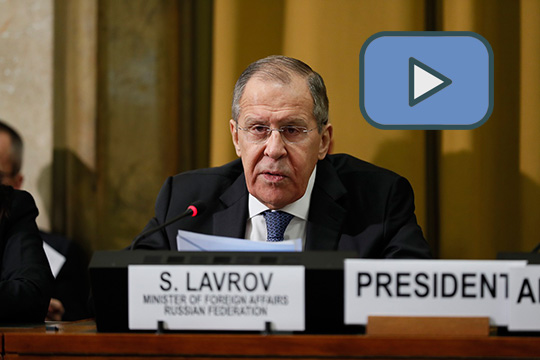 Выступление Сергея Лаврова на на Конференции по разоружению