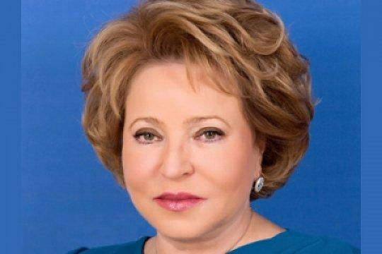 Поздравление председателя СФ В.И. Матвиенко по случаю Дня работника культуры
