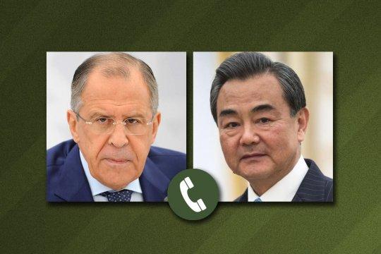 Сергей Лавров провел телефонный разговор с главой МИД Китая