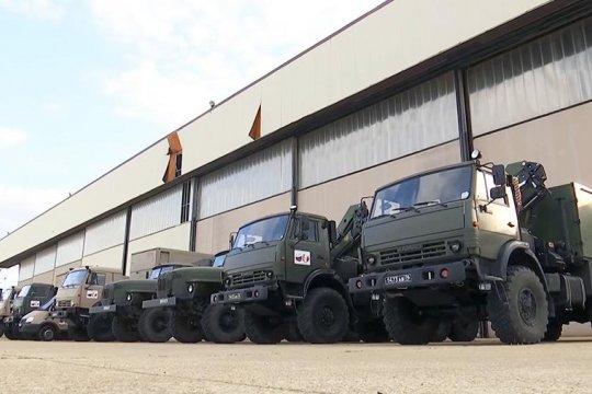 Российские военные вирусологи начали 600-километровый марш в Бергамо