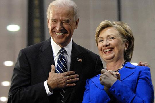 Байден говорит «женщина вице-президент», и подразумевает Хиллари Клинтон?