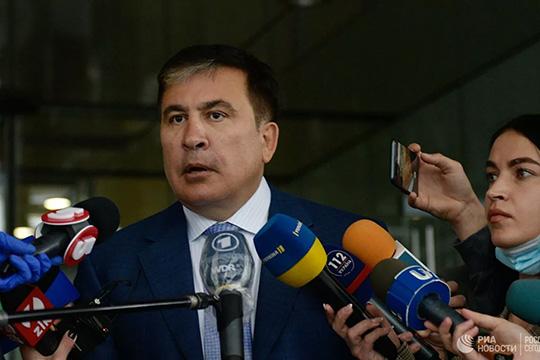 Третье украинское пришествие Саакашвили