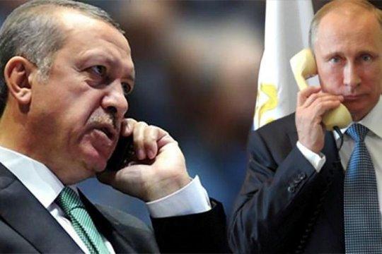 Путин и Эрдоган обсудили борьбу с коронавирусом и ситуацию в Сирии
