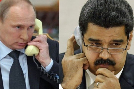 Путин и Мадуро обсудили борьбу с коронавирусом и ситуацию на нефтяных рынках