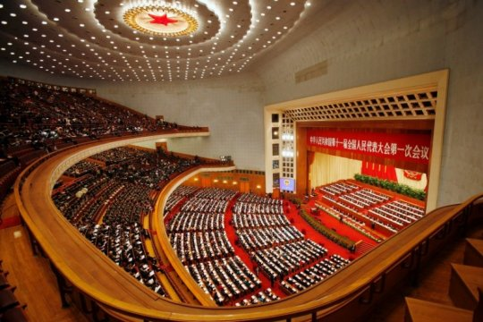 Китайские депутаты поддержали закон о безопасности Гонконга