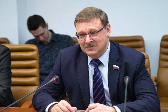 Константин Косачев: Система международного права неэффективна