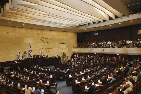 В.Матвиенко - поздравления с избранием спикера Кнессета Израиля