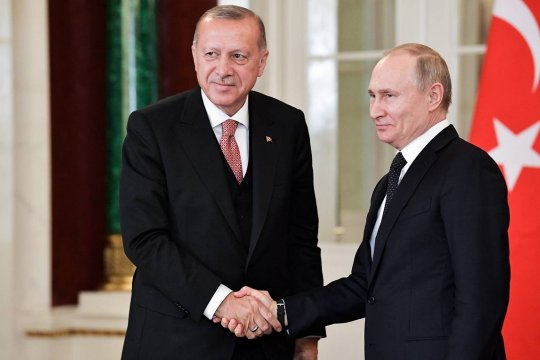 Путин и Эрдоган обсудили Сирию, Ливию и борьбу с коронавирусом