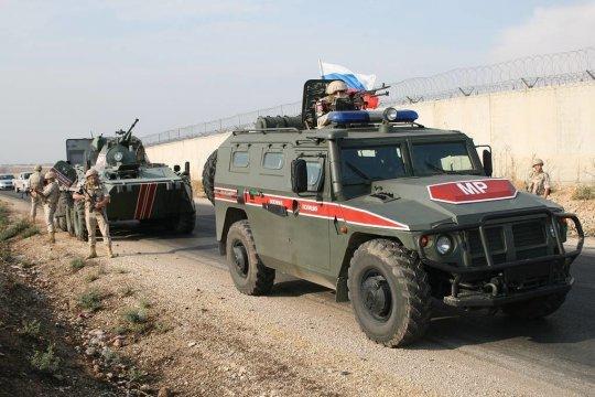 Российские и турецкие военные провели очередное патрулирование в районе Идлиба