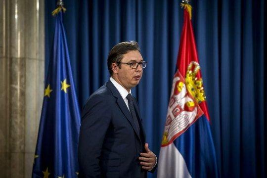На парламентских выборах в Сербии убедительную победу одержала партия власти