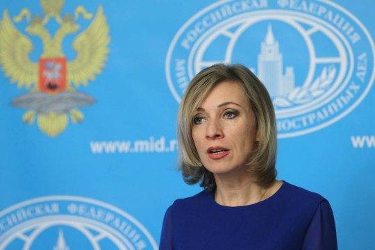 Захарова ответила на слова Генпрокурора США об иностранном вмешательстве в протесты