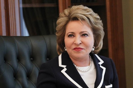 Поздравление В. Матвиенко по случаю Международного дня парламентаризма