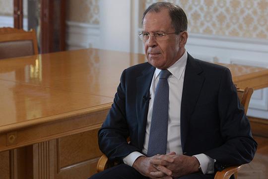 Интервью Министра иностранных дел Российской Федерации С.В.Лаврова телеканалу «РТ»