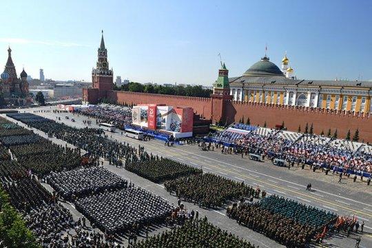 Парад в честь 75-летия Победы. Прямая трансляция