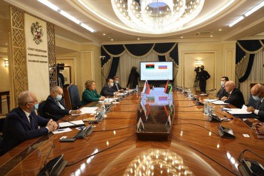 В. Матвиенко: Российско-ливийское сотрудничество по парламентской линии имеет большие перспективы