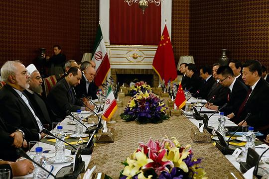 Иран – Китай: намечается стратегический союз?