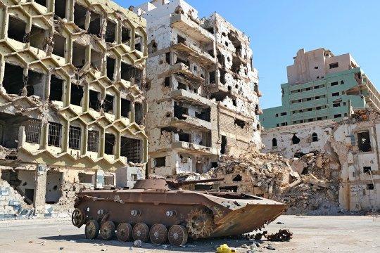 Парламент Ливии разрешил вмешательство египетской армии в конфликт в стране