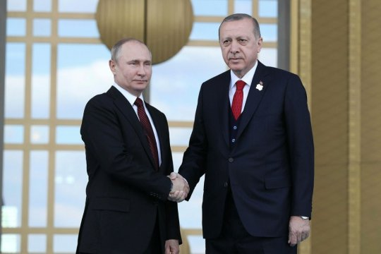 Путин и Эрдоган обсудили возобновление авиасообщения между Россией и Турцией