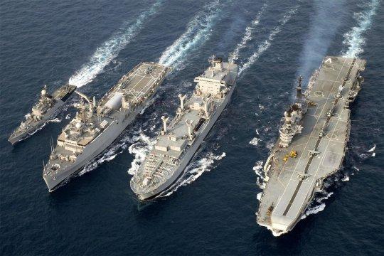 Индия и США провели совместные учения в Бенгальском заливе
