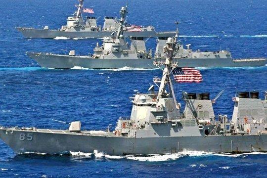 В Черном море начались военные учения НАТО Sea Breeze 2020