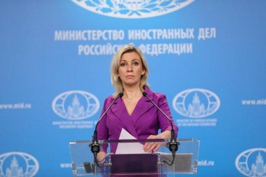 Мария Захарова: Мы своих реально не бросаем