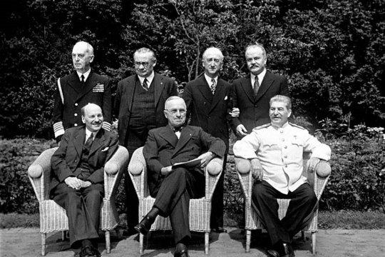 Потсдамская конференция – жертва информационной войны?
