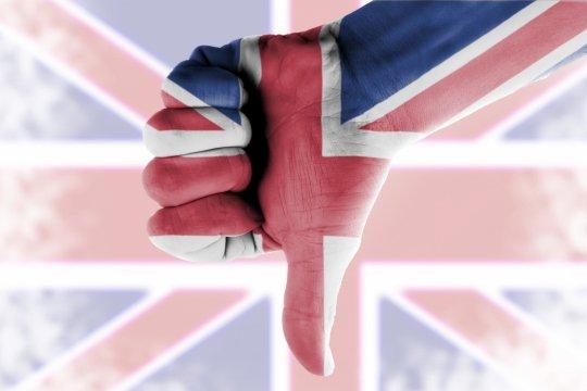 В Великобритании зафиксирован рекордный экономический спад