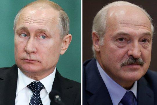Путин поздравил Лукашенко с переизбранием на пост президента