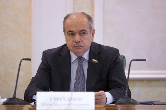 И. Умаханов: Межпарламентские контакты будут способствовать развитию новых направлений российско-китайского партнерства