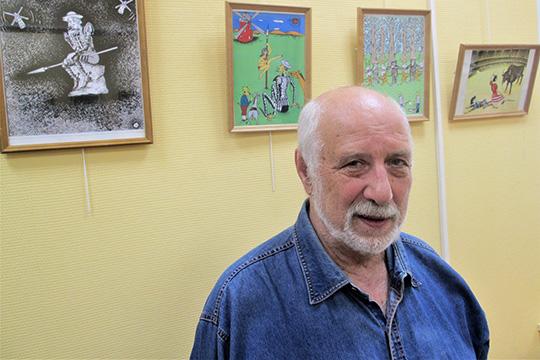 Карикатурист, популярный в России и Ибероамерике