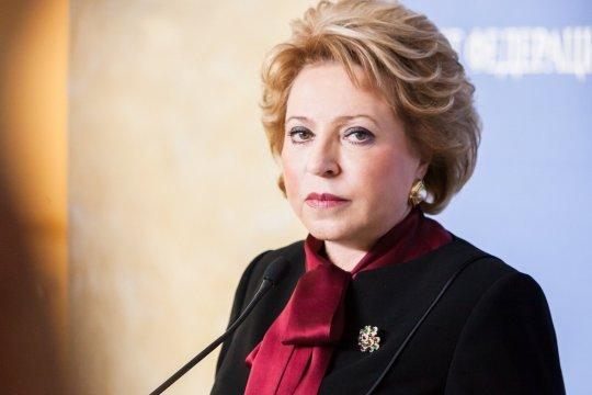 Председатель СФ В. Матвиенко провела встречу с Председателем Милли Меджлиса Азербайджана С. Гафаровой
