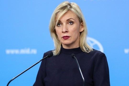 Захарова: намерение ЕС присвоить санкционному режиму имя Навального носит неприкрытую антироссийскую направленность