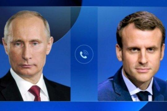 Путин и Макрон обсудили «дело Навального»